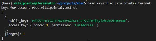 rbac.vitalpointai.testnet keys